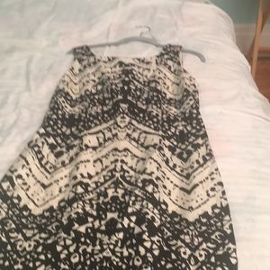 Ladies size 6 Talbots silk dress